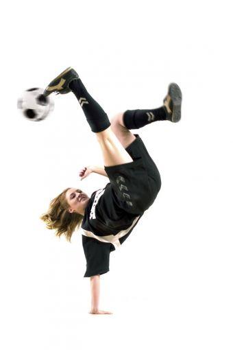 anmutig und akrobatisch